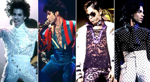 4 Decades of Prince Looking Incredible