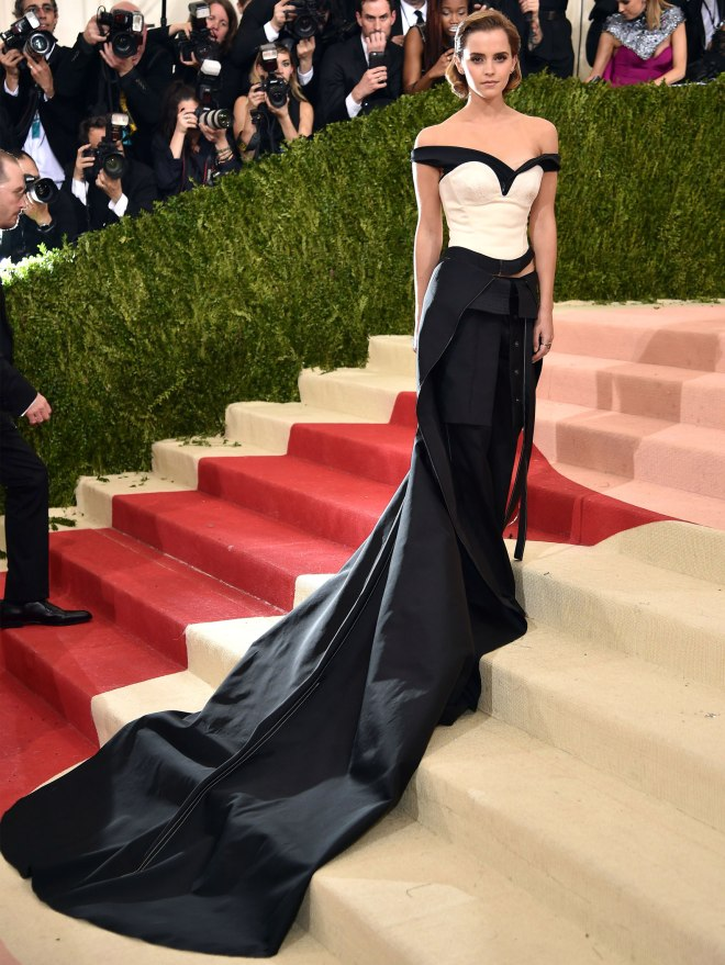 Emma Watson wears ethical fashion to the Met Gala