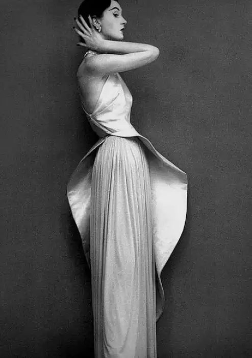 Madame Grès, modeled by Dovina