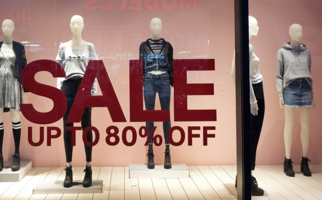 Almost half of American women shoppers won_t even walk into a store unless there_s a sale